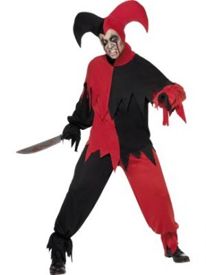 Dark Jester Costume  32707