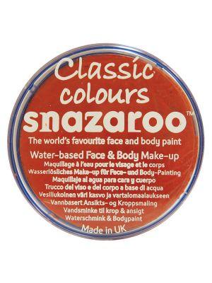 Dark Orange Snazaroo 18ml Face Paint