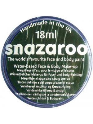 Dark Green Snazaroo 18ml Face Paint