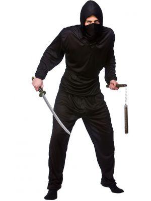 Dark Ninja Black Costume EM-3172