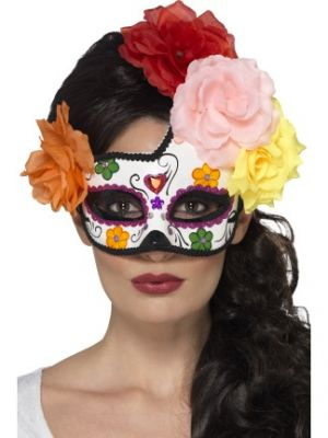 Day of the Dead Crescent Eyemask 44959