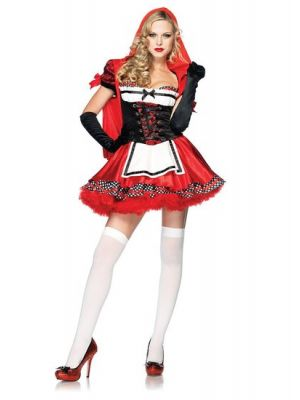 Divine Miss Red Costume  83846