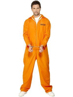 Escaped Prisoner Costume Smiffys 29535