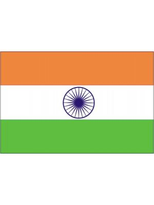 India 5ftx3ft Football Rugby Supporters Flag