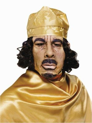 Gaddafi Rubber Mask JW