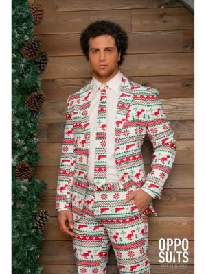 OppoSuits Gangstaclaus Fancy Dress Suit