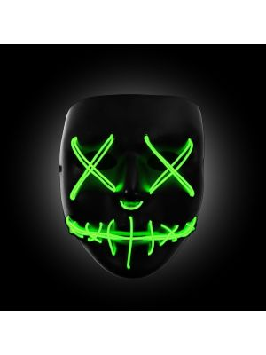Purge Light Up Mask (GREEN LED) - WK PURGE MASK
