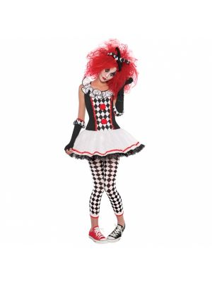 Harlequin Honey Adults Costume 997007/997008/997009