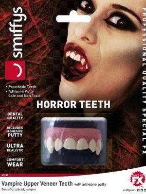 Horror Teeth Vampire White 45183