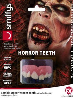 Horror Teeth Zombie White 45182
