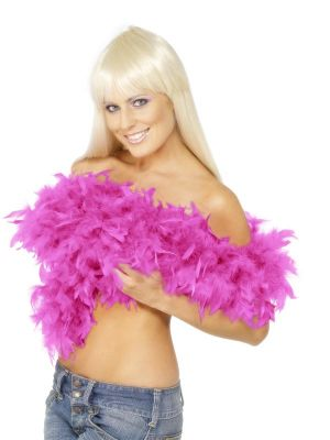 Feather Boa Hot Pink 150cm U07090