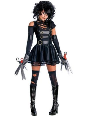 Miss Scissorhands Fancy Dress Costume Rubies Licensed