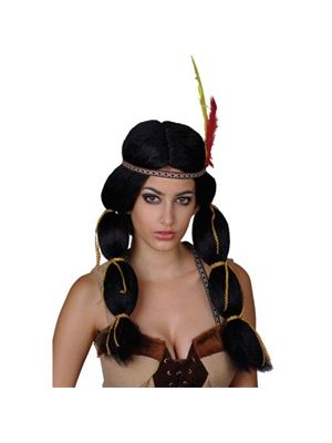 Indian Princess Wig EW-8017