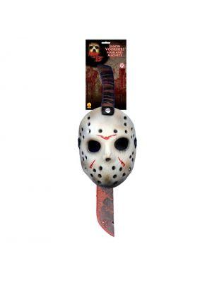 Jason Mask and Machette Set - Official Merchandise