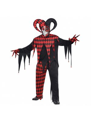 Krazed Jester Adults Costume 844205-55