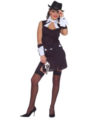 Lady Gangster Costume 3152C