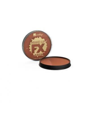 Smiffy's Make-up FX Light Brown Aqua Face and Body 39182