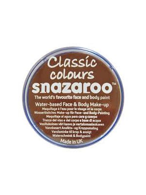Light Brown Snazaroo 18ml Face Paint 1118988