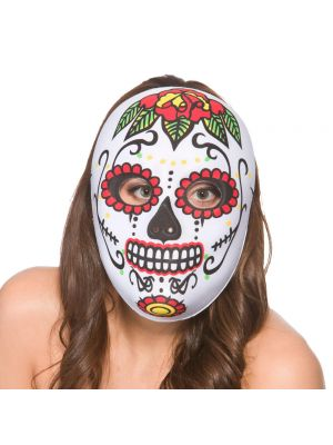 Day Of The Dead Full Face Multi Colour 9990