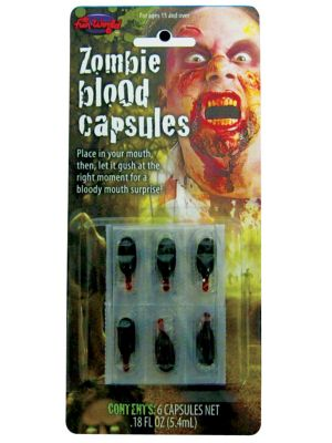 Blood Capsules Zombie 9490Z