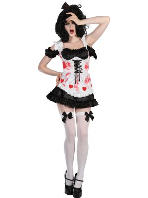 Zombie Queen of Hearts Costume HF-5060