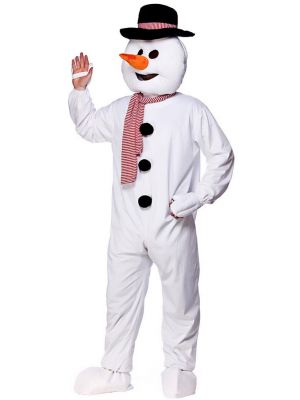 Snowman Mascot Fancy Dress Costume MA-8558