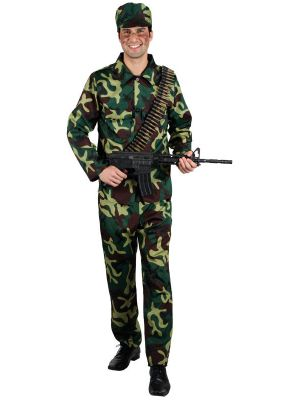 Army Soldier Costume EM-3119