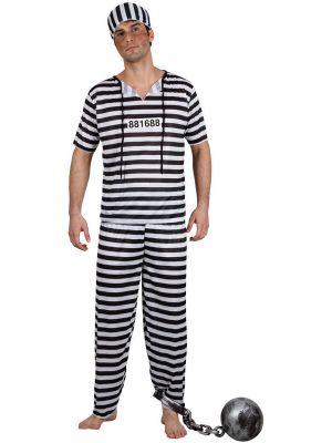 Prison Break Convict Costume EM-3129