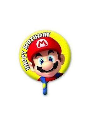 Mario Helium Balloon Mario Brothers Licenced