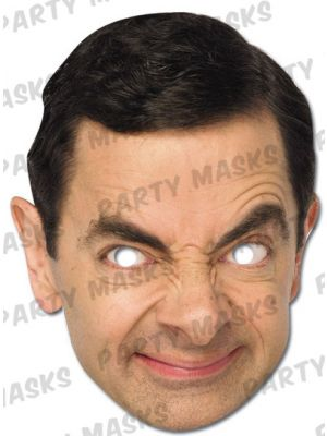 Mr Bean Paper Character Mask