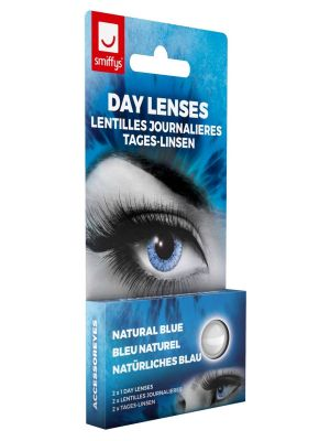 Natural Blue Contact Lenses 1 Day