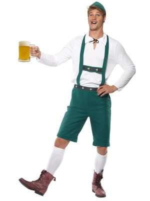 Oktoberfest Costume Green Smiffys 39497