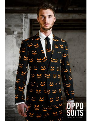 OppoSuits Black-O Jack-O Suit 0052
