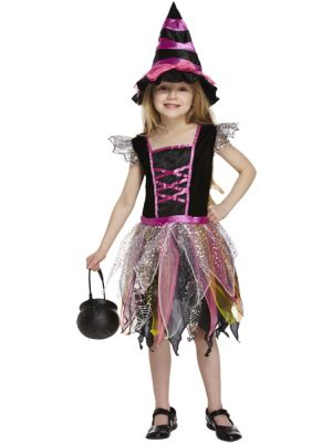 Pink Witch Costume V20 097