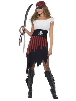 Pirate Wench Costume Smiffys 30716