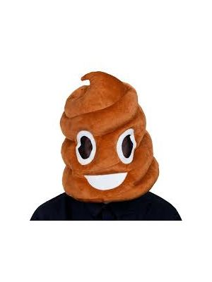 Animal Plush Poop Head Wicked Fancy Dress 1288