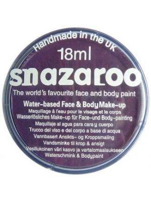 Purple Snazaroo 18ml Face Paint 1118888