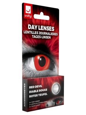 Red Devil Contact Lenses 1 Day
