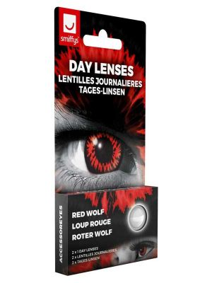 Red Wolf Contact Lenses 1 Day