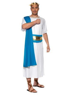 Roman Senator Costume Blue Smiffys 30644
