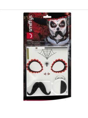 Day of the Dead Senor Bones Make up kit 44926