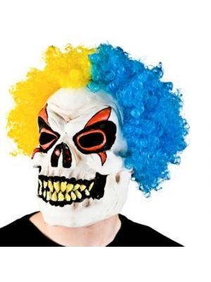 Skeleton Clown With Hair MK-9913