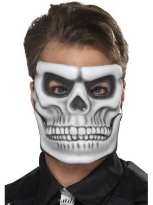 Day of the Dead Skeleton Mask 44919