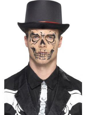 Skull Face Tattoo Transfer 46774