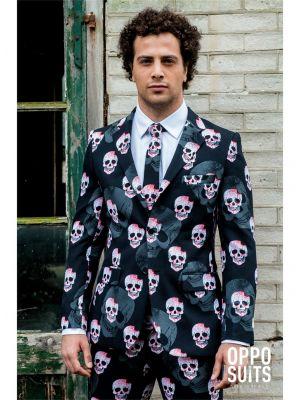 OppoSuits Skullaton Fancy Dress Suit