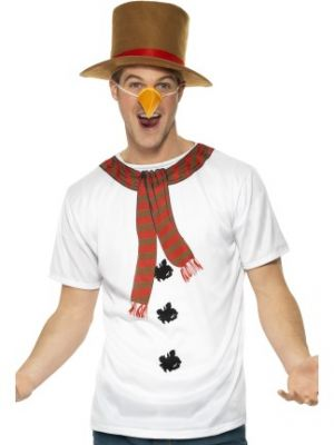 Smiffy's Instant Snowman Kit 39836
