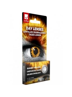 Sunset Yellow Contact lenses 1 Day