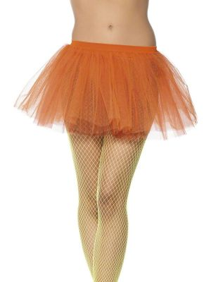 Tutu Neon Orange Fancy Dress 01706