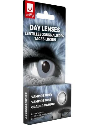 Vampire Grey Contact Lenses 1 Day