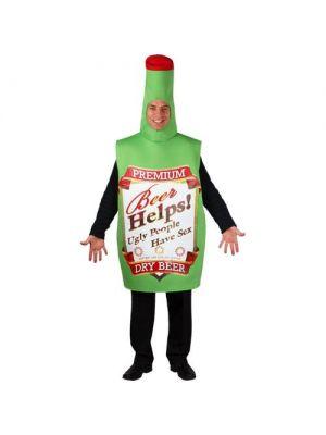 Funny Beer Bottle Costume 8604